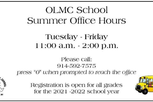 OLMC Summer Hours